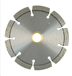 NED Hard Material Wet/Dry Diamond Blade - 6""