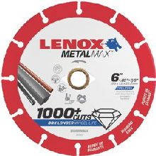 "Lenox Metal Max 6"" Cutting Disc - 1972923"
