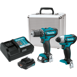 Makita 12 Volt Max CXT Lithium-Ion Cordless 2 piece Combo Kit - CT226RX