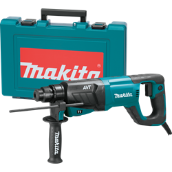 Makita 1 in. AVT Rotary Hammer, Accepts SDS-Plus Bits - HR2641