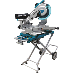 Makita 12 In. Slide Compound Miter Saw, w/Laser & Stand - LS1216LX4