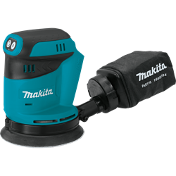 Makita 18V LXT Lithium-Ion Cordless 5 in. Random Orbit Sander (Tool only) - XOB01Z