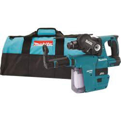 Makita 18V LXT? Lithium-Ion Brushless Cordless 1 In. Rotary Hammer, Tool Only, Accepts 1 in. SDS-Plus Bits, w/ HEPA Vacuum - XRH01ZVX