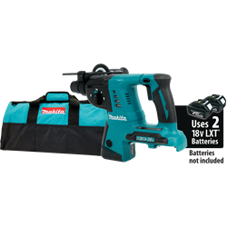 Makita 18V X2 LXT? Lithium-Ion (36V) Cordless 1 in. Rotary Hammer (Tool Only) - XRH05Z