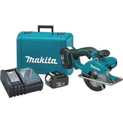 Makita 18V LXT Lithium-Ion Cordless 5-3/8 in. Metal Cutting Saw Kit - XSC01