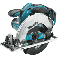 Makita 18 Volt LXT? Lithium-Ion Cordless 6-1/2 in. Circular Saw, Tool Only - XSS02Z