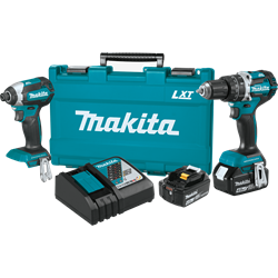 Makita 18V LXT Lithium-Ion BL 2-Piece Kit 4.0 Ah - XT269M