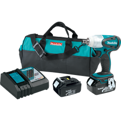 Makita 18V LXT? Lithium-Ion Cordless 1/2 In. Impact Wrench Kit - XWT05