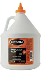 Keson 5 lbs Glo-Orange Marking Chalk - 105-GO