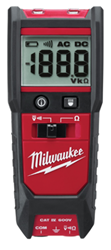 Milwaukee Auto Voltage/Continuity Tester W/ Resistance - 2213-20
