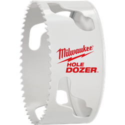 "Milwaukee 4-1/2"" Hole Dozer Bi-Metal Hole Saw - 49-56-0233"