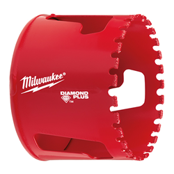 "Milwaukee 2-1/2"" Diamond Plus Hole Saw - 49-56-5660"