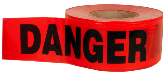Keson Danger Tape - 1000 - BT-1214