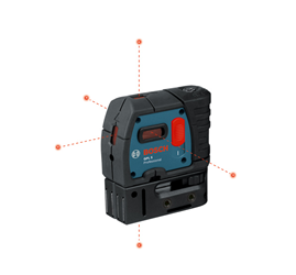 Bosch GPL Self Leveling 5 Point Laser - GPL 5