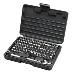 100PC Master Bit Set W/ Security Tips
