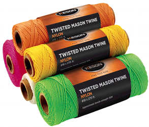 Keson White Braided Nylon Twine 500 - WB500